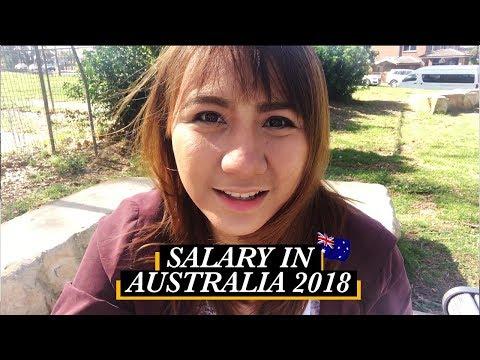 How Much We Earn In Australia 2018 | Filipinos In Australia