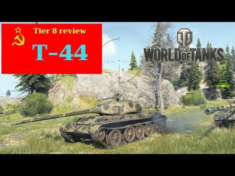 T-44 tank review World of Tanks