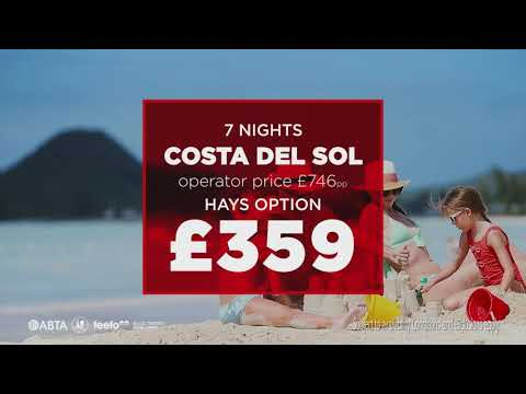 Hays Travel: Holidays for up to Half Price 2019