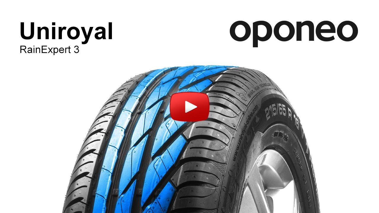 tyre uniroyal rainexpert 3 summer tyres oponeo youtube. Black Bedroom Furniture Sets. Home Design Ideas