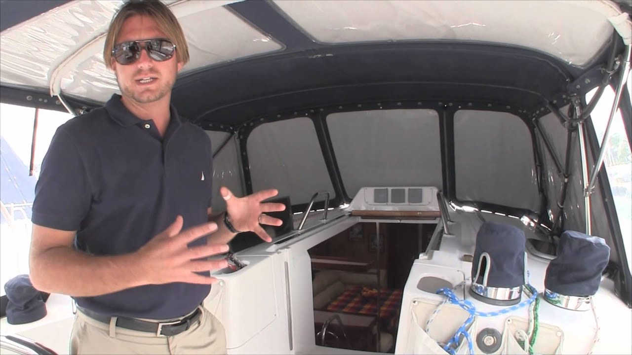 2001 Hunter 460 Cutterrigged Yacht For Sale By Ian Van Tuyl Walkthrough YouTube