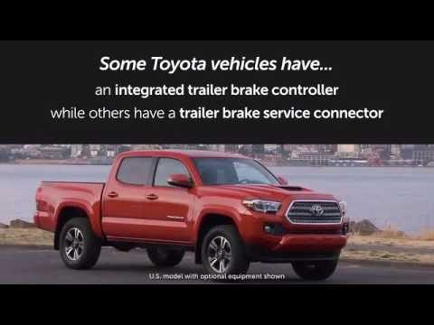 2000 Toyota 4runner Trailer Wiring Diagram Light Switch Nz Know Your Mechanical Brake Controller Youtube