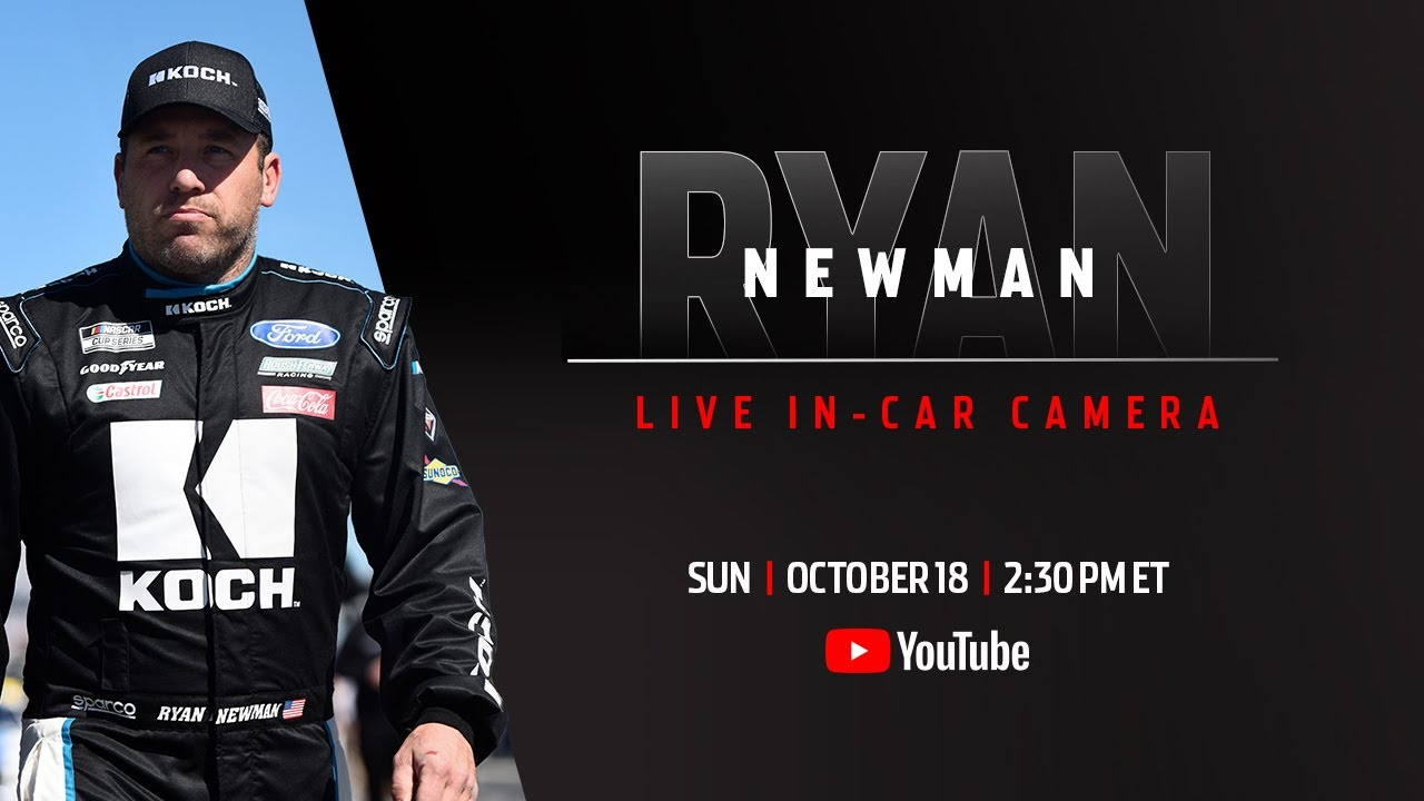 Ryan Newman live in-car camera presented by Coca-Cola | NASCAR Playoffs at Kansas Speedway