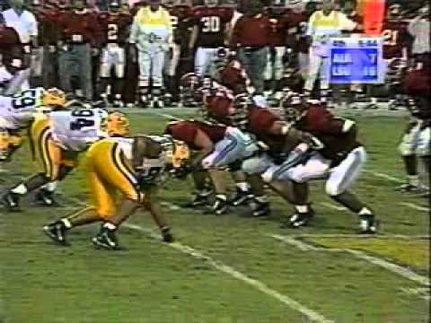 1998 Alabama at LSU 4th Quarter