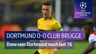 Dortmund vs Club Brugge (0-0) UEFA Champions League highlights