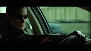 Перестрелка на автостраде ... отрывок из фильма (Матрица: Перезагрузка/The Matrix Reloaded)2003