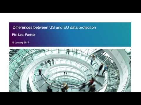 The differences between EU and US data protection laws
