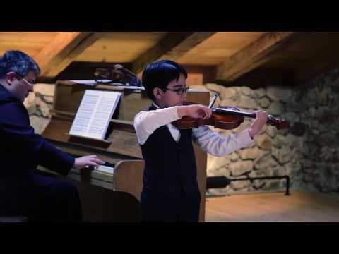 Miguel Negri Masterclass - Juan José Peña - Negri Violin Program