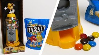 M&m's Candy Dispenser - Gumball Machine Toy - Football Edition ガムボールマシーン