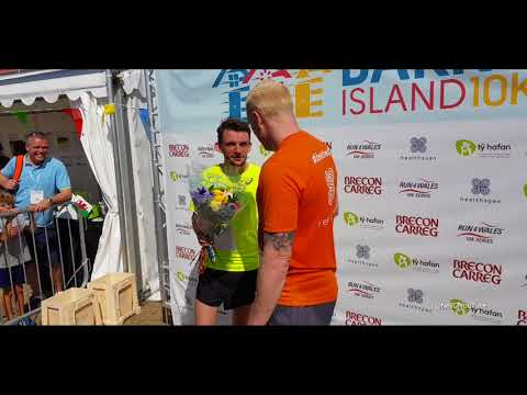 Dewi Griffiths won the 10k run Brecon Carreg Barry Island  2018