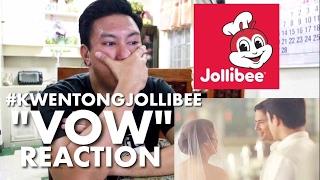 "Kwentong Jollibee: ""VOW"" Reaction (Jollibee's Valentines Series)"