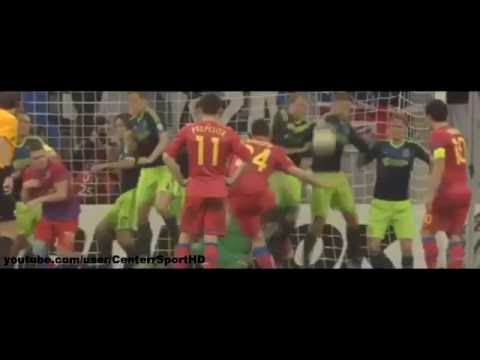 Steaua Bucuresti - Ajax Amsterdam 2-0 (4-2 d.p.) ~ Rezumat complet ~ 21 Februarie 2013