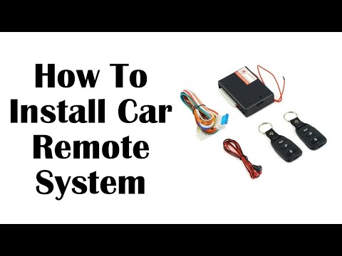 How To Install Car Security System By Majid Ahmad Sultani