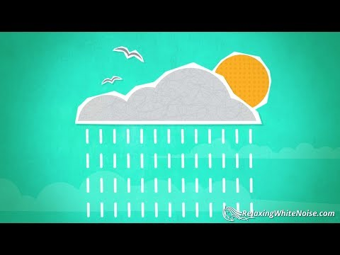 Spring Showers Rain Sounds | Relax, Study, Sleep | Rainstorm White Noise 10 Hours