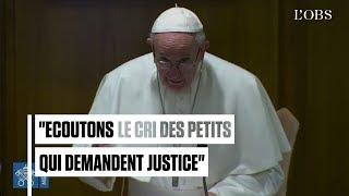 Abus sexuels : regardez la déclaration du pape François à l