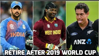 5 great ODI players who could retire after 2019 world cup