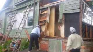 видео Как пристроить новый Дом к старому? Осадочный шов?