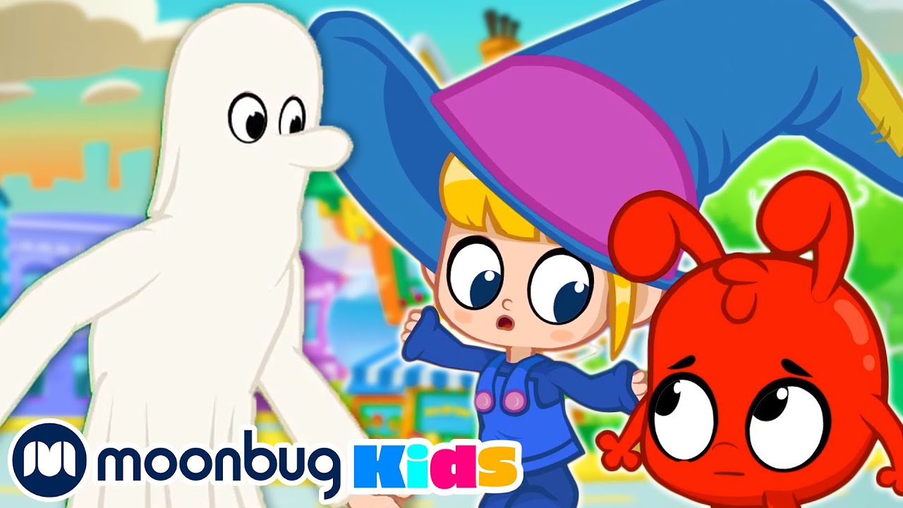 My Magic Halloween! @Morphle TV | Learn | ABC 123 Moonbug Kids | Fun Cartoons | Learning Rhymes
