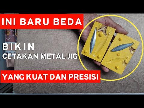 INI BEDA, BIKIN CETAKAN METAL JIG YANG KUAT DAN PRESISI | How to make strong and precise Metal Jig