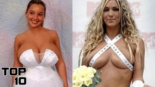 Top 10 Inappropriate Wedding Dresses