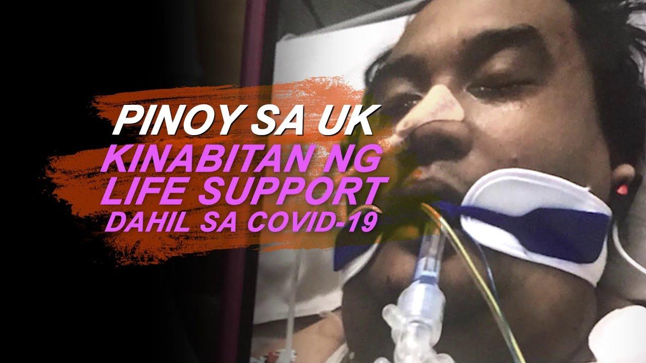 Juan Love: PINOY FRONTLINER SA UK, KINAILANGAN KABITAN NG LIFE SUPPORT MALABANAN LANG ANG COVID-19
