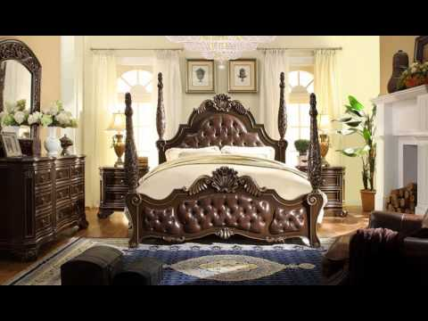 Beautiful Acme Vendome Bedroom Set   YouTube