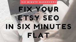 ETSY SEO: Get More Traffic for Your Etsy Items