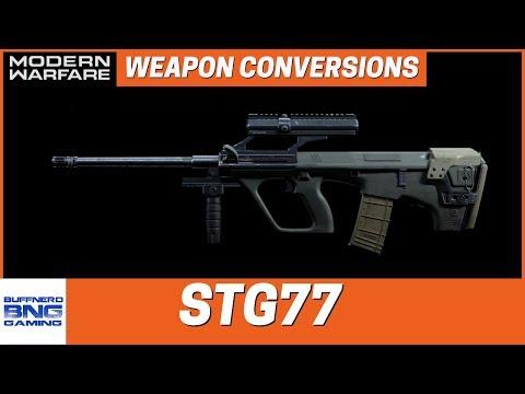 STG77 Weapon Conversion - Call Of Duty Modern Warfare