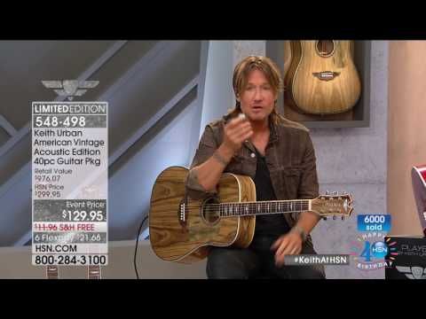 HSN | Keith Urban Guitar Collection Celebration 07.09.2017 - 10 PM