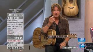 HSN | Keith Urban Guitar Collection Celebration 07.09.2017 - 10 PM