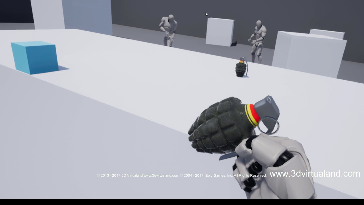Diplomado Unreal Engine 4 23 VR - 3D Virtualand
