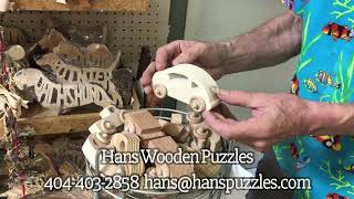 Hans Wooden Puzzles @ Lakewood - Back of Hall H