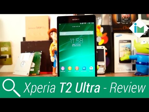 Sony Xperia T2 Ultra - Review en español