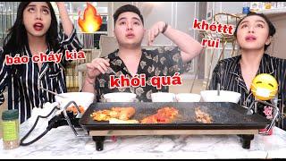 MUKBANG Thịt Khét cùng Tuấn   Tuấn Ngọc Võ, Quỳnh Thi, KhanhVan Tran