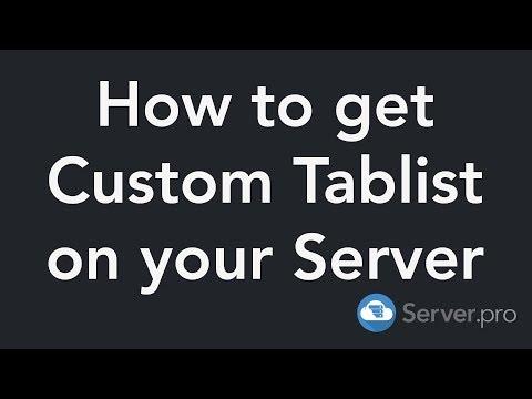 How To Setup The Tab Reborn Plugin - Minecraft Java