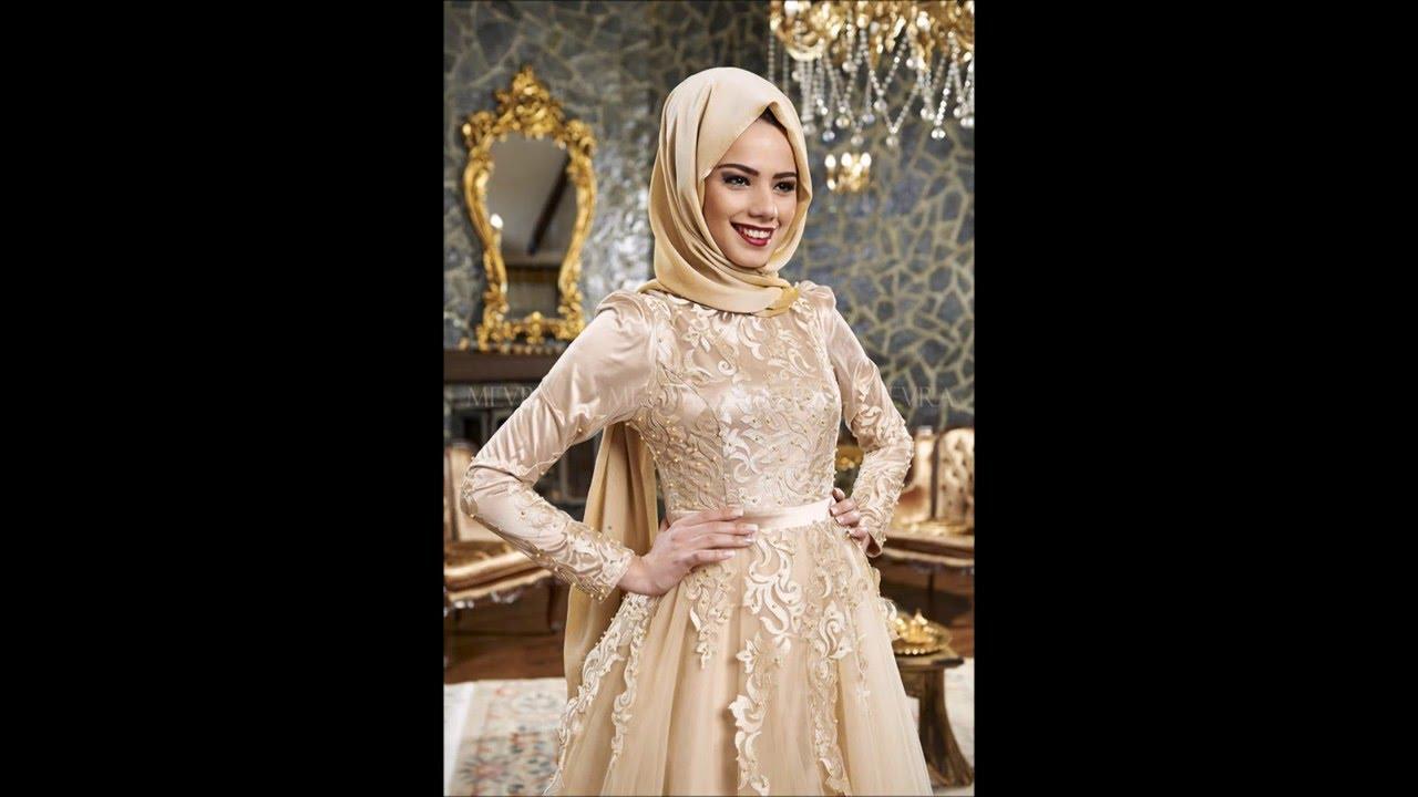 3c252648f624e 2016 Tesettür Abiye Elbise Modelleri (söz, nişan, mezuniyet elbiseleri) -  YouTube