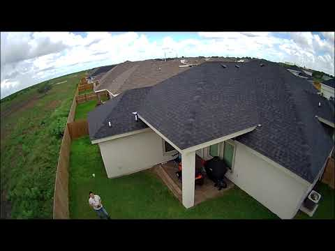 Potensic D85 Drone testing fly