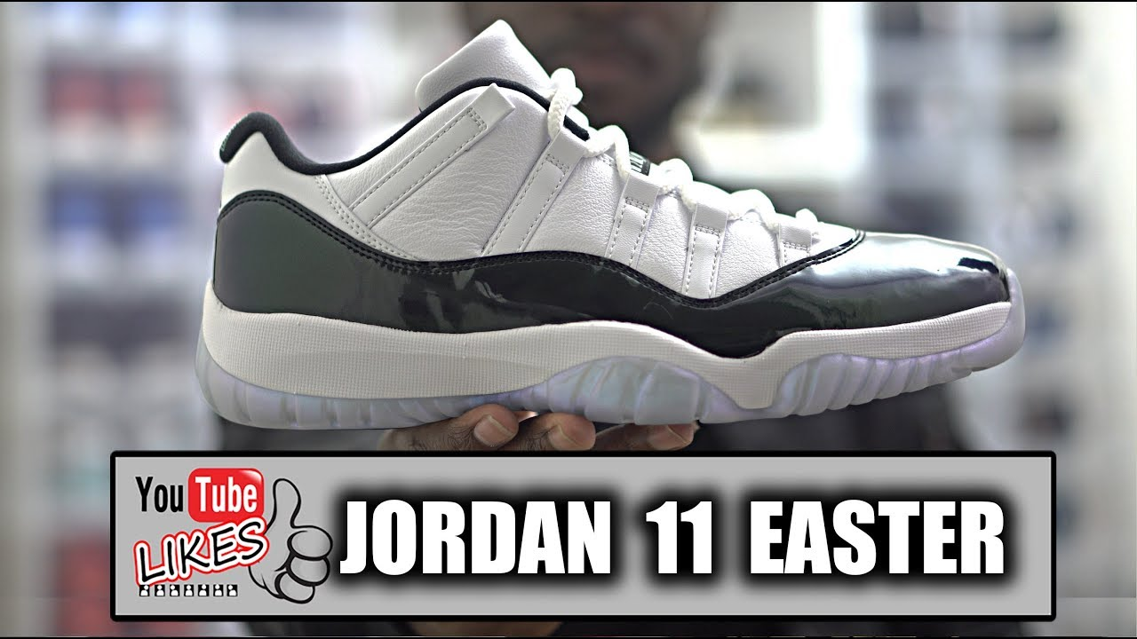 0fa355a0431 Don t Buy Air Jordan 11 Low Iridescent Easter For Retail! - YouTube