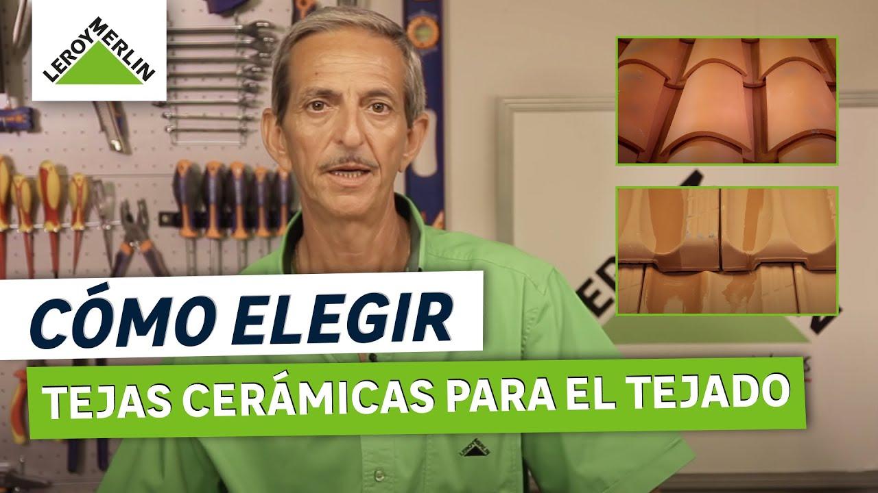C mo elegir tejas cer micas para el tejado leroy merlin for Leroy merlin tejas