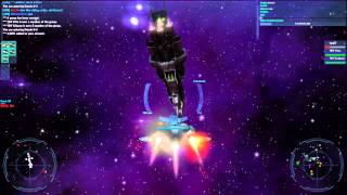Vendetta Online Gameplay Video #003 - Battle at Deneb Border