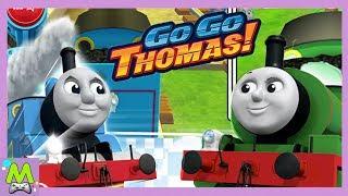 Томас и Друзья Гонки Приключений.Вперед Томас!Крутые Подьемы и Водяные Горки.Мульт Игра