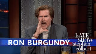 Ron Burgundy Accidentally Started 'The Ron Burgundy Podcast'