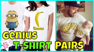 The Most Genius T-Shirt Pairs Ever