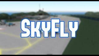 ROBLOX | Vôo da geração A320 de SkyFly