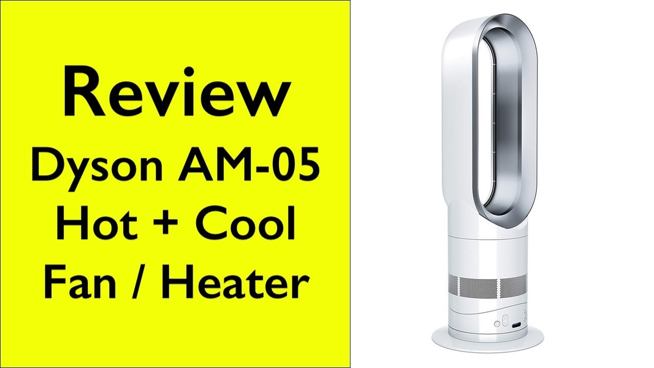 review dyson hot cool fan heater youtube. Black Bedroom Furniture Sets. Home Design Ideas