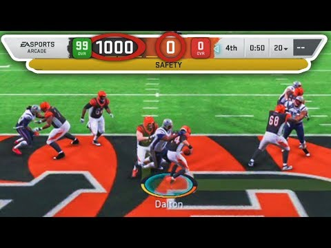 What Happens When A 0 OVR Team Plays A 99 OVR Team On Madden 20?