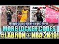 NEW LOCKER CODE + PINK DIAMOND + LEBRON JAMES TO LAKERS + NBA 2K19 NEWS
