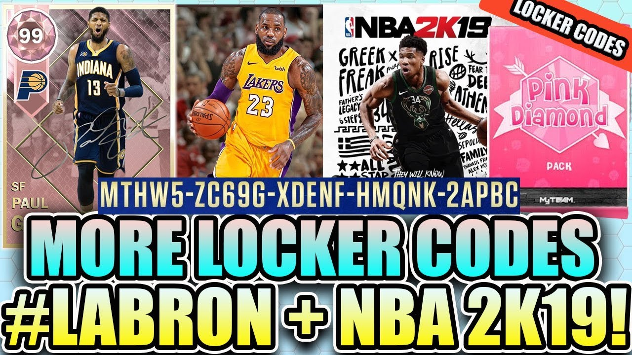 2326836745a3 NEW LOCKER CODE + PINK DIAMOND + LEBRON JAMES TO LAKERS + NBA 2K19 NEWS