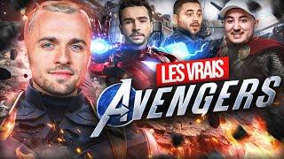 LES VRAIS AVENGERS, C'EST NOUS ! 🦸♂️ (Marvel Avenger's ft. Gotaga, Doigby, Domingo)
