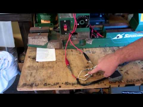 RaceTech Electric Stator & Voltage Regulator Test Bench